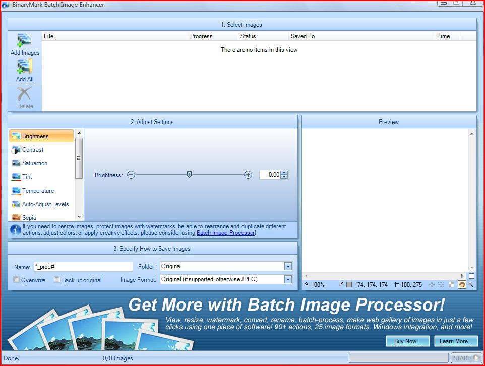 Batch Image Enhancer