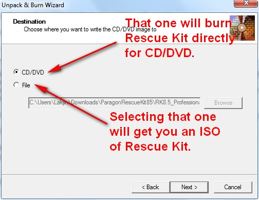 Free Key Kit Paragon Product Rescue Download Free Edition