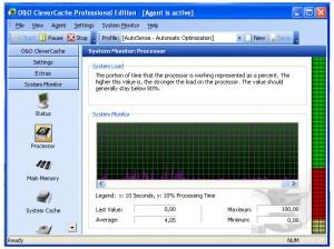 O&O CleverCache system monitor processor