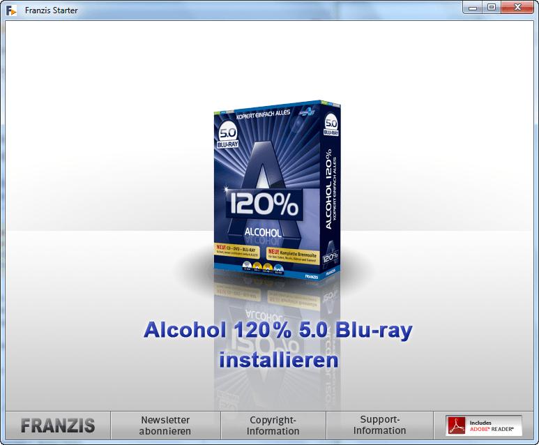 Программа Alcohol 120% копирует диски на физическом уровне, поэтому легко о