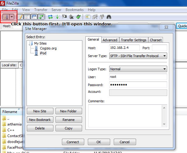 Transfering using FileZilla over WiFi is the other free way to access