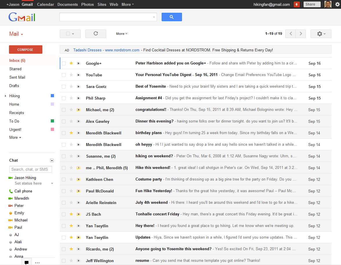 how to clean my google browser history from gmail