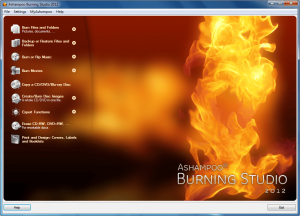 Ashampoo Burning Studio 2012 with free serial key