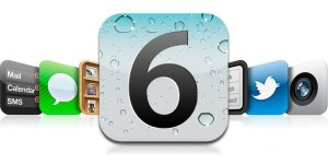 A banner with iOS 6 icons