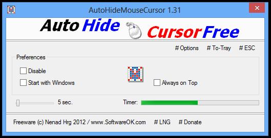 AutoHideMouseCursor 1.31