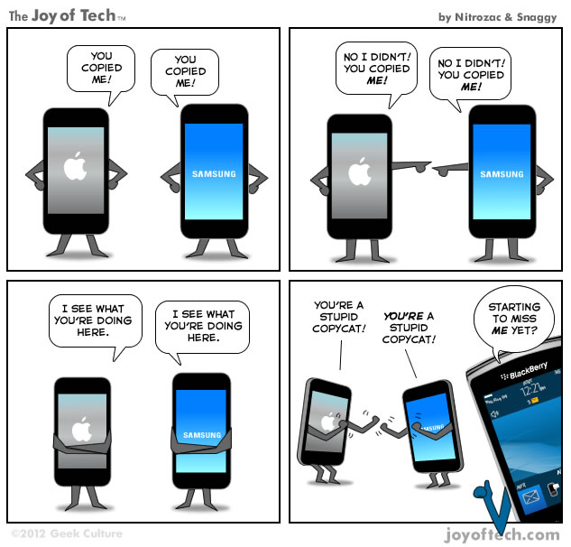 Hilarious comic illustrates Apple vs Samsung with a hint ...