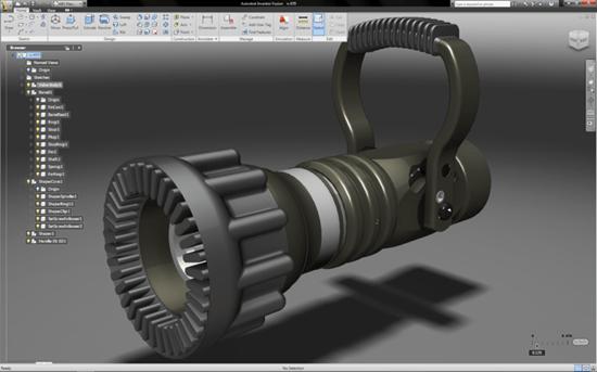 Autodesk Inventor Fusion