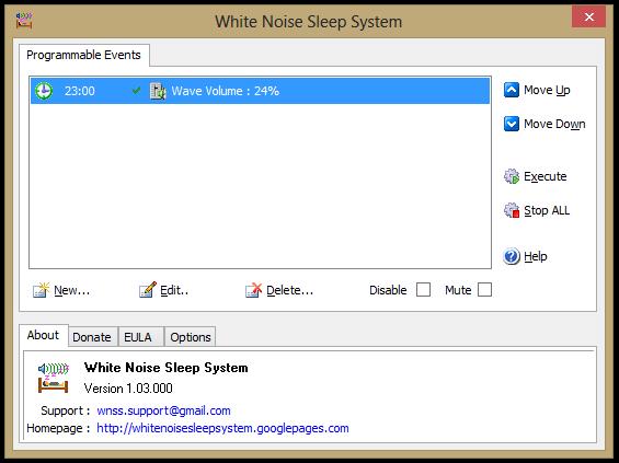 White Noise Sleep System