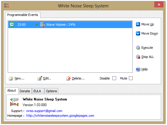White Noise Sleep System