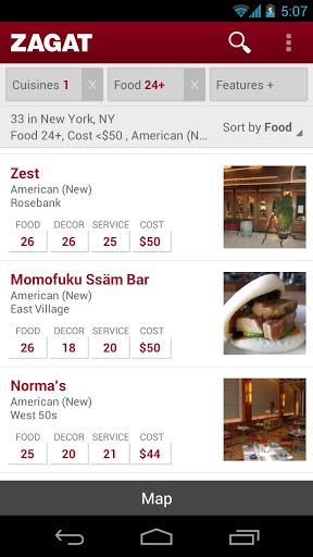 Restaurant List