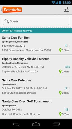 Event Listings