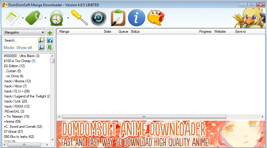 DomDomSoft Manga Downloader