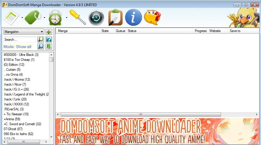 DomDomSoft Manga Downloader