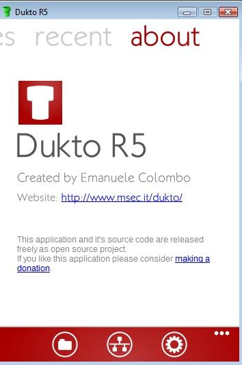 Dukto Portable R5