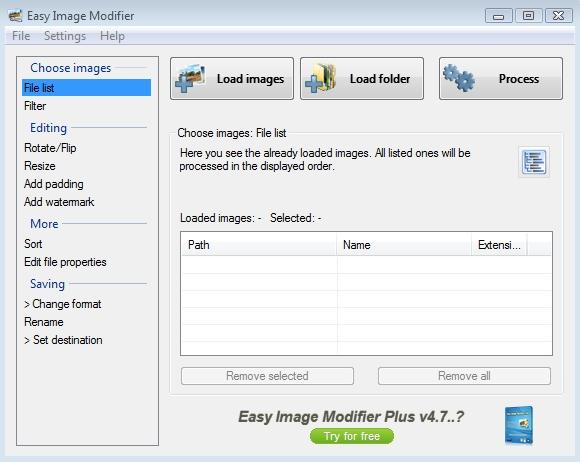 Easy Image Modifier
