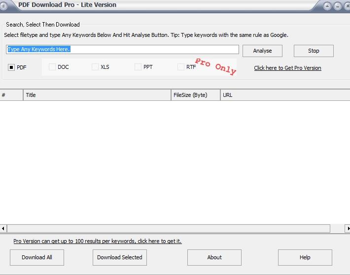 PDF Download Pro Lite