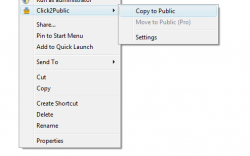 CLick2Public Screenshot