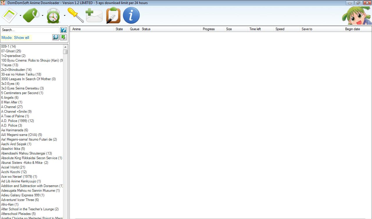 DomDomSoft Anime Downloader