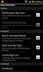 Easy Uninstaller Screenshot