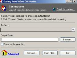 Eusing Free Video Converter