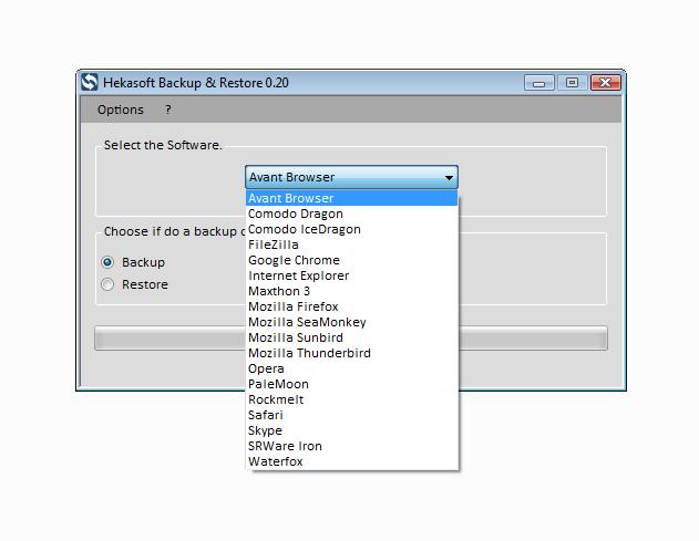 Hekasoft Backup and Restore