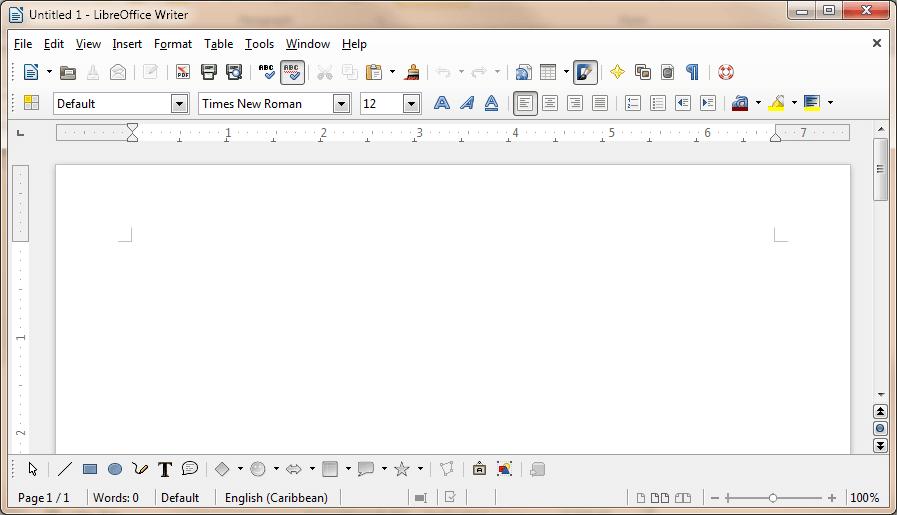 LibreOffice Screenshot