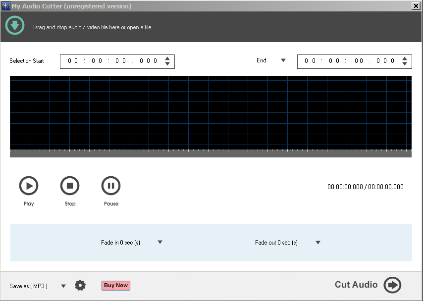 My Audio Cutter