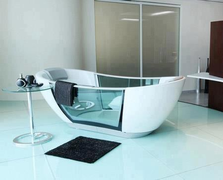 smarthydro bathtub keeps water warm and is controlled by