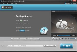 Aiseesoft BD to MKV Copy Screenshot