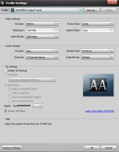 Aiseesoft Total Media Converter Platnum Screenshot