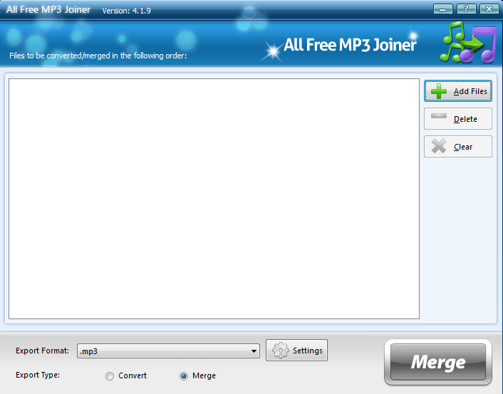 All Free MP3 Joiner