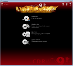 CDRWIN 9 Screenshot