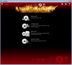 CDRWIN 9 Screenshot