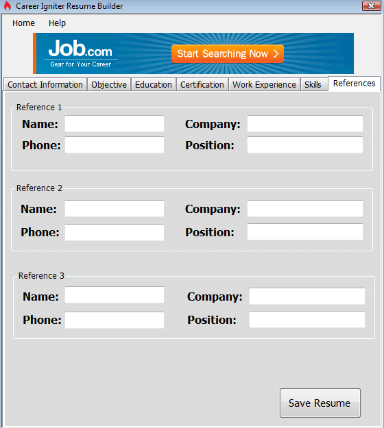 Instead of a Resume Service, Use a Builder to Create a Resume Yourself