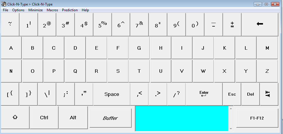 Click-N-Type Portable