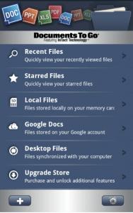 Documents to Go Screenshot