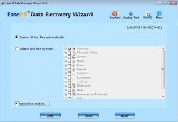EaseUS Data Recovery Wizard Screenshot