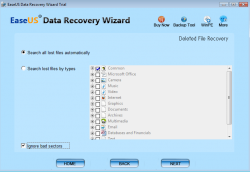 EaseUS Data Recovery Wizard Screenshot