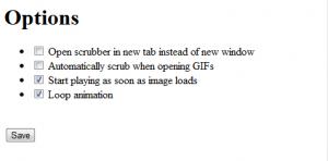 GIF Scrubber Screenshot