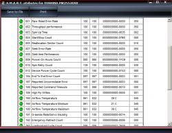 HDD Scan Screenshot