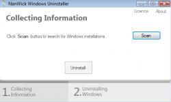 NanWick Windows Uninstaller