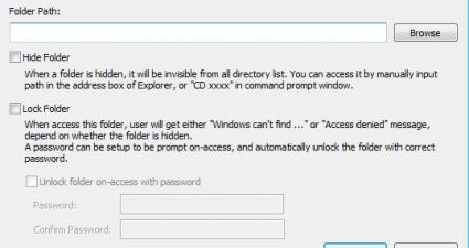 Private Folder Screenshot