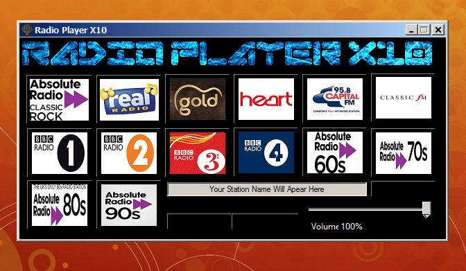 Radio Player X10
