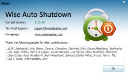 Wise Auto Shutdown Screenshot