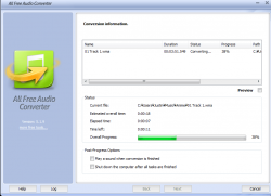 All Free Audio Converter Screenshot