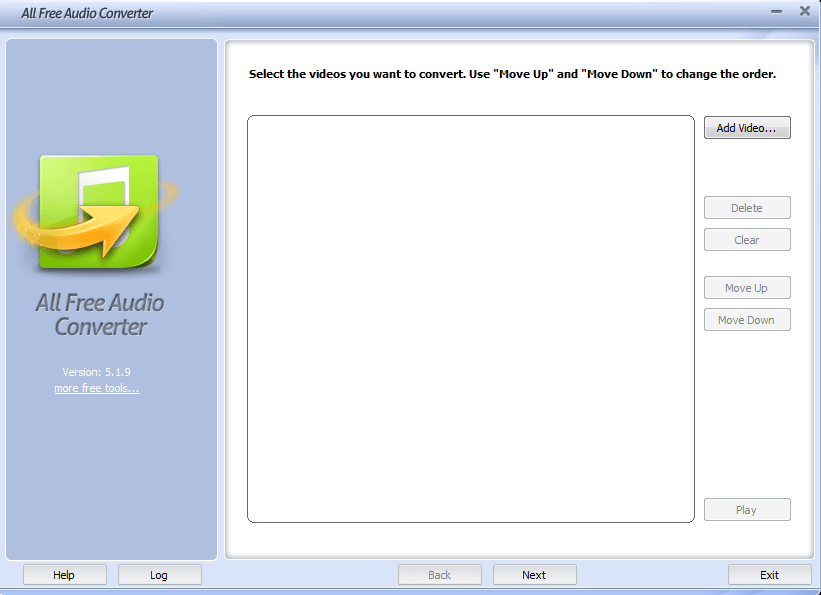 All Free Audio Converter