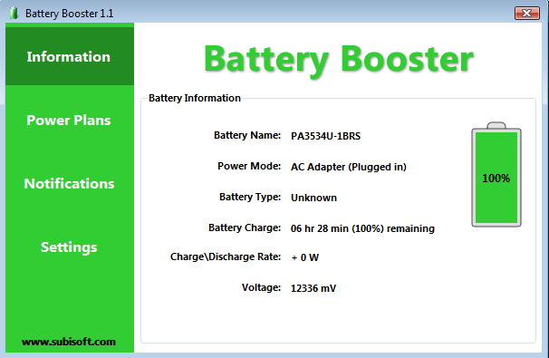 Battery Booster Screenshot