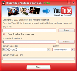BlazeVideo YouTube Downloader