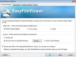 EasyFileViewer Options