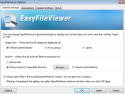 EasyFileViewer Options